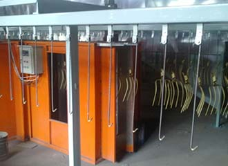 powder coating workshop